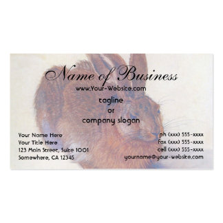 Young Hare by Albrecht Dürer Double-Sided Standard Business Cards (Pack Of 100)