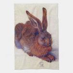 Young Hare by Albrecht Durer, Renaissance Art Hand Towels