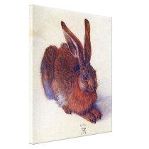Young Hare by Albrecht Durer, Renaissance Fine Art Canvas Print