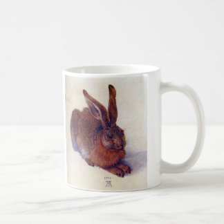 Young Hare by Albrecht Durer, Renaissance Fine Art Coffee Mug