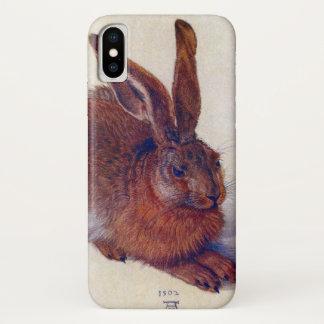 Young Hare by Albrecht Durer, Renaissance Fine Art iPhone X Case