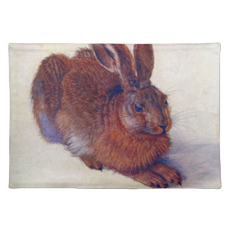 Young Hare by Albrecht Durer, Renaissance Fine Art Placemat