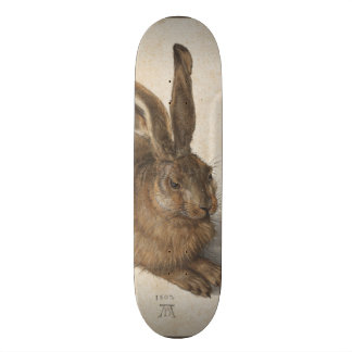 Young Hare by Albrecht Durer Skateboard