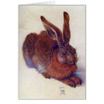 Young Hare by Durer, Renaissance Art, Christmas Greeting Cards