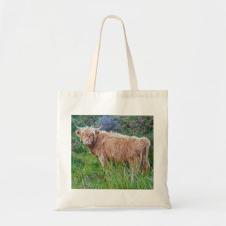 Young Highland Cow Bag
