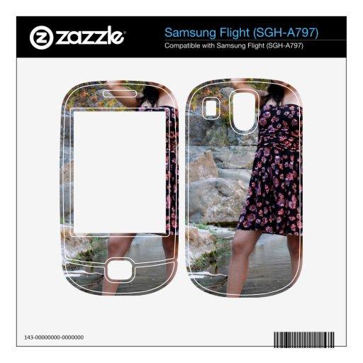 Young Hispanic Woman Skins For Samsung Flight
