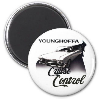Young Hoffa Cruise Control Magnet