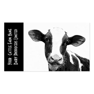 Young Holstein Veal or Dairy Calf Double-Sided Standard Business Cards (Pack Of 100)