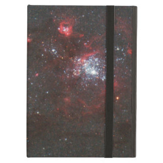 Young, Hot Stars in a Spiral Arm of the Whirlpool Cover For iPad Air