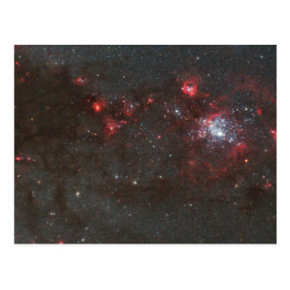 Young Hot Stars in a Spiral Arm of the Whirlpool Postcards