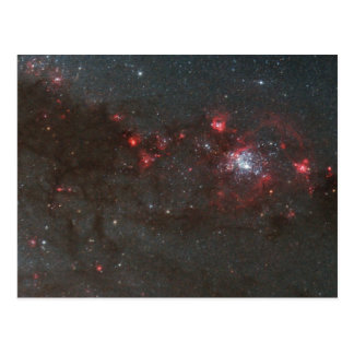 Young, Hot Stars in a Spiral Arm of the Whirlpool Postcard
