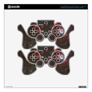 Young, Hot Stars in a Spiral Arm of the Whirlpool PS3 Controller Decals