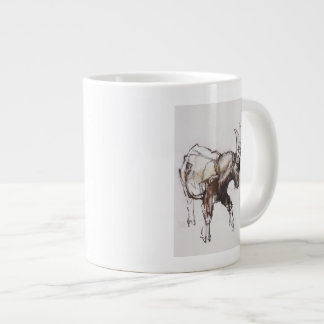 Young Ibex Gran Paradiso 2005 Large Coffee Mug