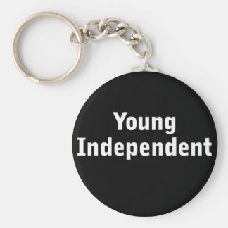 Young Independent Keychain