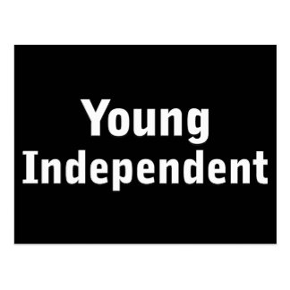 Young Independent Postcard
