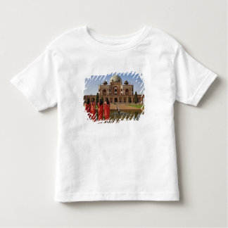 Young Indian ladies and Humayun's Tomb, Delhi, Toddler T-shirt