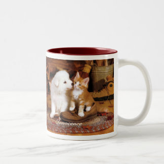Young  Innocence Two-Tone Coffee Mug