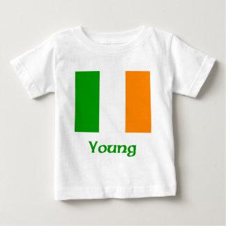 Young Irish Flag Baby T-Shirt