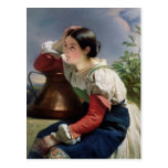 Young Italian at the Well, c.1833-34 Post Cards