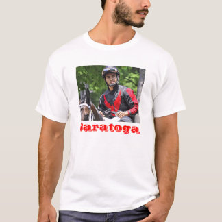 "Young Jockey Sensation ""Luis Saez"" at Saratoga T-Shirt"