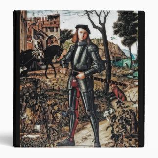 Young Knight with Sword Binder