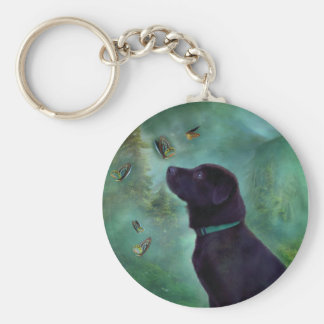 Young Lab & Buttys Art Keychain