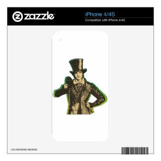 Young Lad iPhone 4S Decals