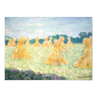 Young Ladies of Giverny Sun Effect by Claude Monet Card