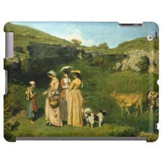 Young Ladies of the Village by Gustave Courbet