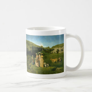 Young Ladies of the Village Coffee Mug