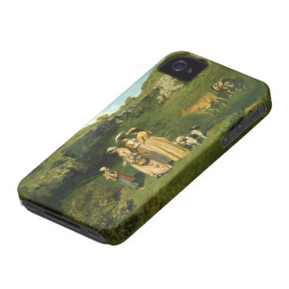 Young Ladies of the Village iPhone 4 Case