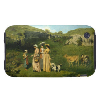 Young Ladies of the Village Tough iPhone 3 Cover