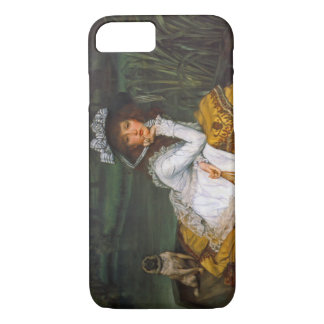 Young Lady Boating 1870 iPhone 7 Case