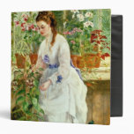 Young Lady in a Conservatory Vinyl Binders