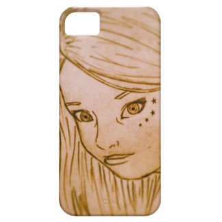 young lady iPhone SE/5/5s case