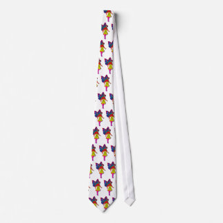 Young Lady with Butterfly Wings Tie