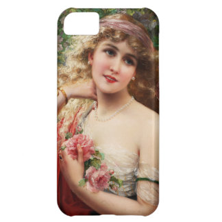 Young Lady With Roses iPhone 5C Case