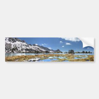 Young lakes - Yosemite - Sierra Nevada Mountains - Bumper Sticker