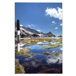 Young lakes - Yosemite - Sierra Nevada Mountains - Dry Erase Board