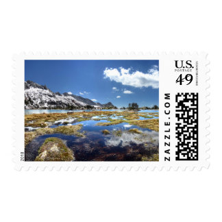 Young lakes - Yosemite - Sierra Nevada Mountains Postage