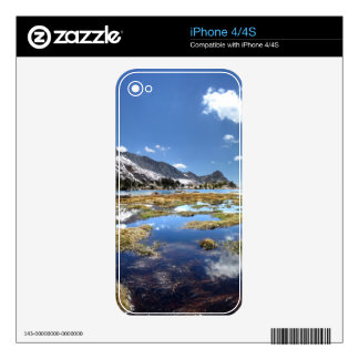 Young lakes - Yosemite - Sierra Nevada Mountains - Skin For The iPhone 4S