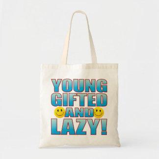 Young Lazy Life B Tote Bag