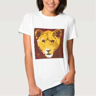 Young Lion Face Tee Shirt