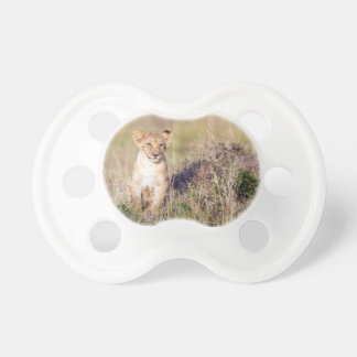 Young lion pacifier