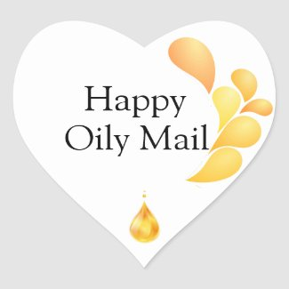 Young Living Business - Oily Happy Mail Stickers