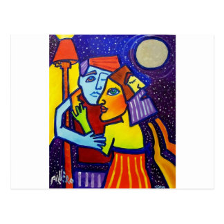 Young Love by Piliero Postcard