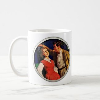 Young Love in the 1950s Coffee Mug