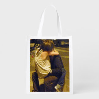 Young Love, Paris Nights Grocery Bag
