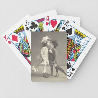 Young Love Photo c 1920s Bicycle Playing Cards