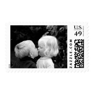 Young love. stamp